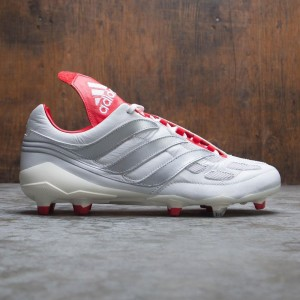 Adidas Men Predator Precision FG David Beckham (white / silver metallic / predator red)