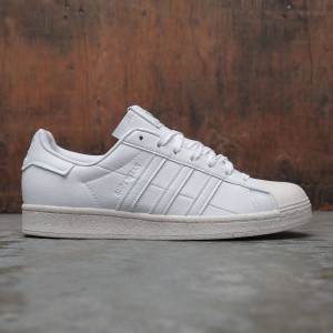 Adidas Men Superstar (white / off white / green)