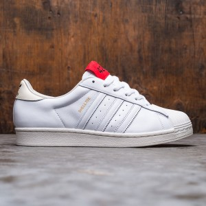 Adidas Consortium x 424 Men Shell Toe (white / core white / scarlet)