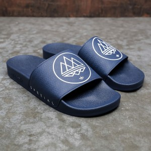 Adidas Men Adilette SPZL (blue / dark blue / footwear white)