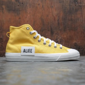 Adidas x Alife Men Nizza Hi (yellow / wonder glow / off white)