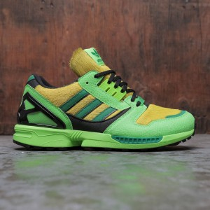 Adidas x Atmos Men ZX 8000 (green / solar green / core black)