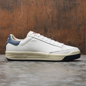 Adidas Consortium Men Rod Laver Aniline Leather (white / core white / collegiate navy)