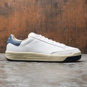 Adidas Consortium Men Rod Laver Cracked Leather (white / core white / collegiate navy)