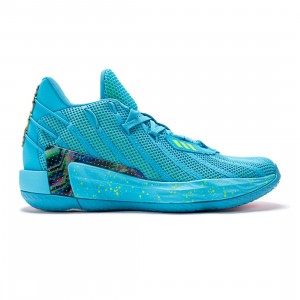 Adidas Men Dame 7 McDonald's All American Game (blue / signal cyan / team shock pink / team solar green / core black)