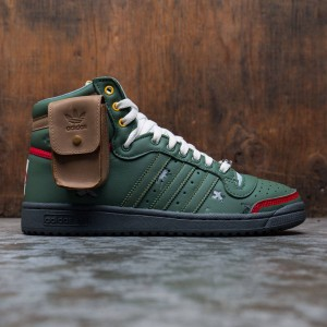 Adidas x Star Wars Men Top Ten Hi (green / trace green / scarlet)