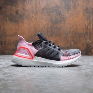 Adidas Women UltraBOOST 19 (black / orchard tint / active red)