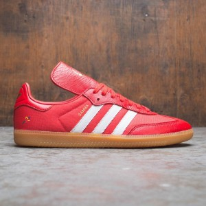 Adidas x Oyster Men Samba OG (red / white / gold)
