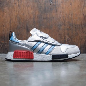 Adidas Men MICROPACER x R1 (silver / silver metallic / light blue / footwear white)
