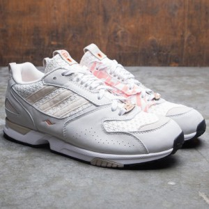 e91c90fb7d2b Adidas Consortium x Shelflife Men ZX 4000 (white   orange   core brown)