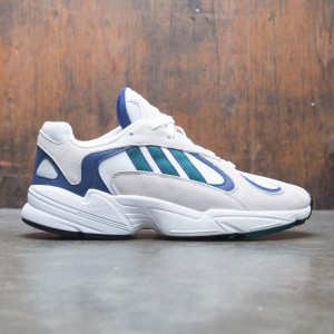 Adidas Men YUNG-1 (white / noble green / dark blue)
