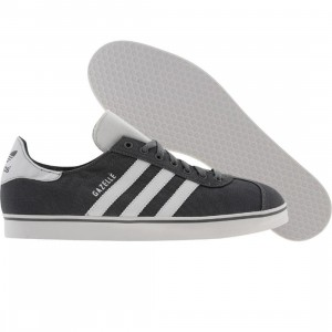 Adidas Gazelle RST (medium lead / white / medium lead)
