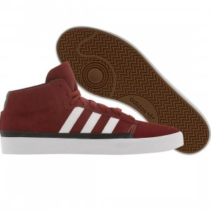 Adidas Skate Rayado Mid (mars red / runninwhite / black)