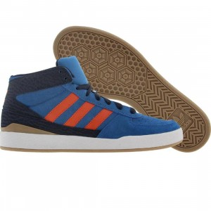 Adidas Skate Forum X (bluebird / crayon orange / college navy)