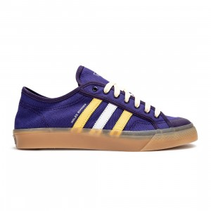 Adidas x Wales Bonner Men Nizza Lo (purple / unity purple / yellow / gold metallic)