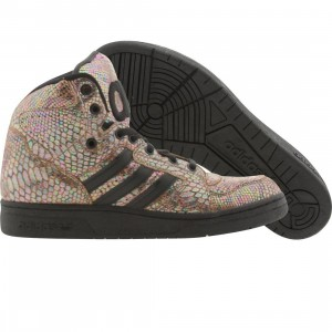 Adidas Men ObyO JS Instinct High Rainbow - Jeremy Scott (black / runninwhite)