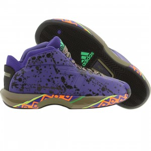 Adidas Men Crazy 1 (purple / blapur / black / vivgrn)