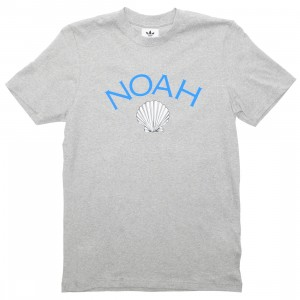 Adidas x Noah Men Tech Tee (gray / medium grey heather)