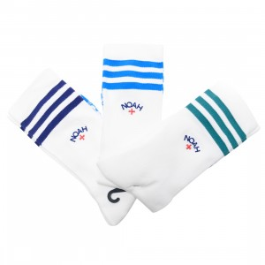 Adidas x Noah Men Socks (white / multi)