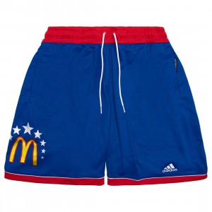 Adidas Men McDonald's All American Game Jamfest Shorts (blue / red)