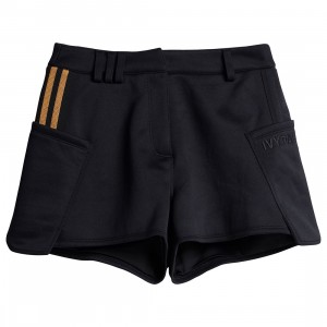 Adidas x Ivy Park Women Stripe Shorts (black / mesa)