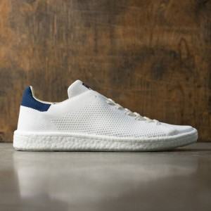 Adidas Men Stan Smith Boost Primeknit (white / footwear white / collegiate navy)