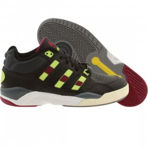 Adidas Men Torsion Court Strategy (black / cblack / syello / boonix)