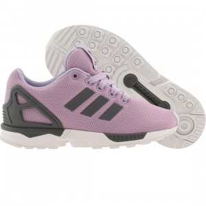 Adidas Little Kids ZX Flux K (purple / glopur / onix / ftwwht)