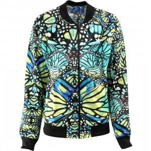 Adidas Women Supergirl Butterfly Track Top (multi / multco)