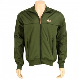 Adidas Fabric Mix TT Jacket (strong olive)