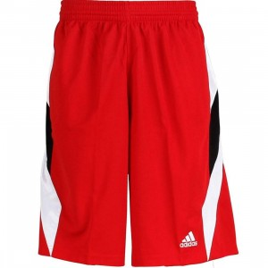 Adidas Downtown Short5 Shorts (university red / white)