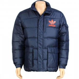 Adidas Down Jacket (dark indigo)