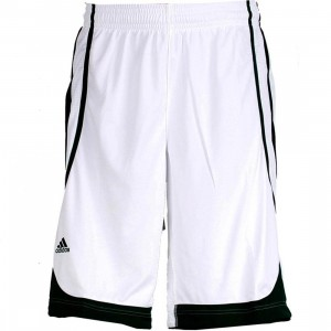 Adidas Pro Team Shorts (white / forest)
