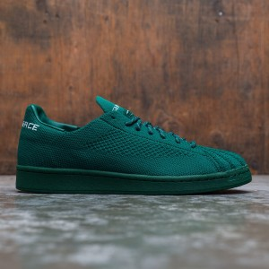 Adidas x Pharrell Williams Men Superstar Primeknit (green / dark green / sky tint)