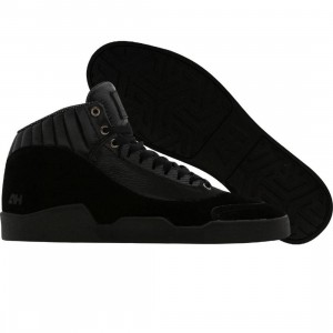 AH By Android Homme Athletic Mid (black suede)
