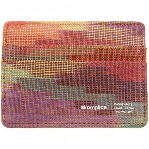 Akomplice Grace Card Clip Wallet (rainbow)