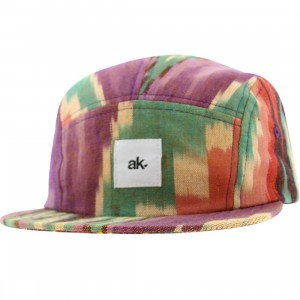 Akomplice Hopi 5 Panel Adjustable Cap (purple / orange / green)