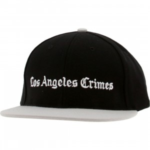 Akomplice LA Crimes Snapback Cap (black / grey)