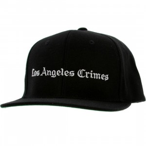 Akomplice LA Crimes Snapback Cap (black / white)