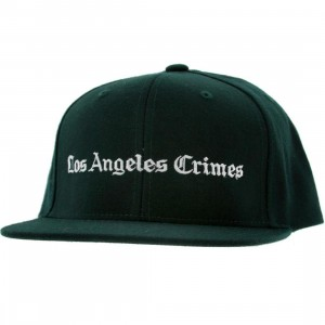 Akomplice LA Crimes Snapback Cap (spruce green / white)