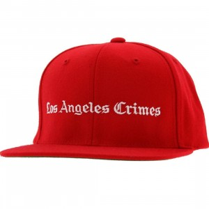 Akomplice LA Crimes Snapback Cap (red / white)
