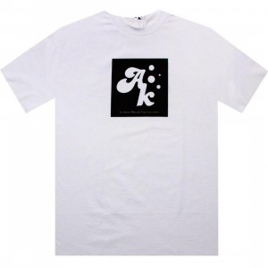 Akomplice Square Root Tee (white / black)
