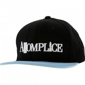Akomplice Sunny Daze Color Change Snapback Cap (black / blue)
