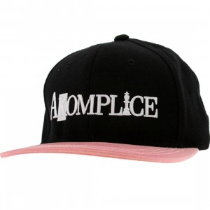 Akomplice Sunny Daze Color Change Snapback Cap (black / red)