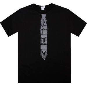 Akomplice White Collar Tee (black)