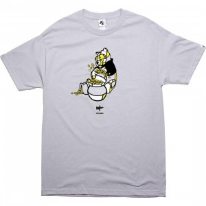 Akomplice x David Flores Winning The Doh Tee (silver)