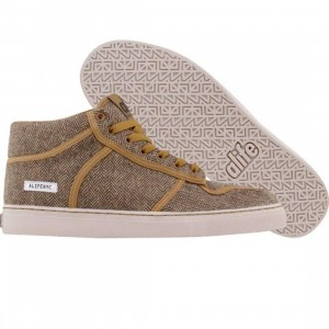 ALIFE Everybody Mid - Luxe Tweed (brown)