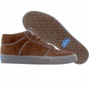 ALIFE Everybody Mid - Corduroy (brown)
