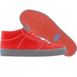 ALIFE Everybody Mid - Corduroy (red)