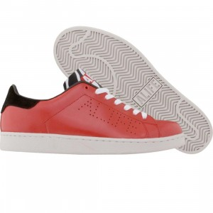ALIFE Court Cup - Leather (red / black)